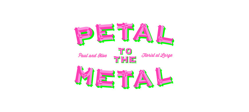 Petal to the Metal flowers London - logo