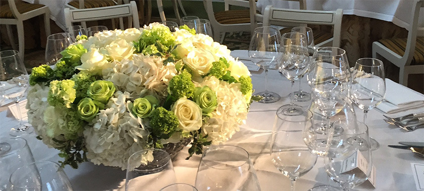 London Florist - Petal to the metal, Lancaster house event