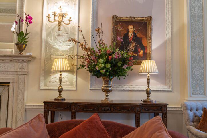 Lansdowne Club London - Petal to the Metal Flowers